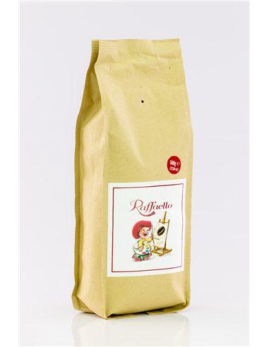 káva mletá Raffaello 500g