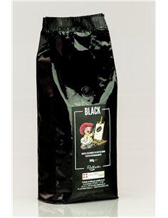 káva zrnková BLACK 125g